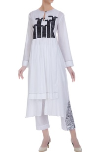 double-layered-kurta-with-front-slit