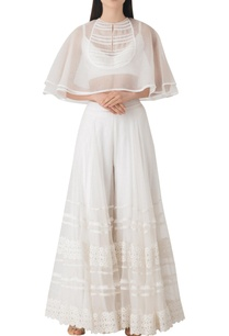 white-sheer-organza-cape-with-palazzo