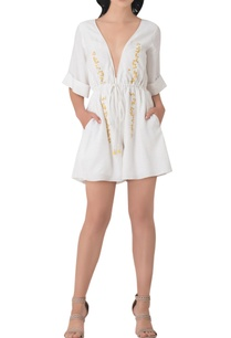 white-embroidered-cotton-playsuit