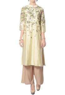 yellow-dori-embroidered-kurta-with-pants