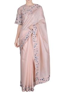 peach-chanderi-silk-saree-with-blouse