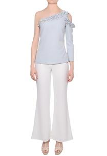 pale-blue-one-shoulder-crepe-blouse