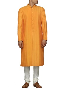 classic-orange-sherwani