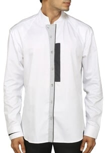 white-shirt-with-grey-zippered-detailing