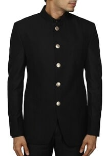 classic-black-bandhgala-suit