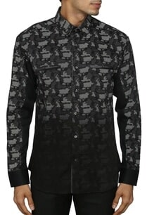 black-and-grey-camouflage-printed-shirt