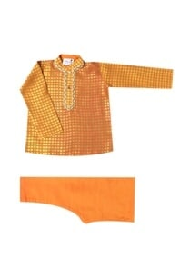orange-printed-kurta-set