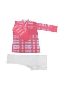 pink-white-tie-dye-kurta-set