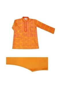 orange-tie-dye-kurta-set