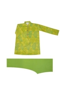 lime-green-printed-kurta-set