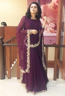 wine-anarkali-gown-with-attached-cape-dupatta