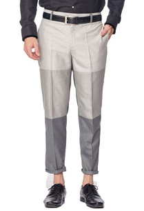 grey-colour-blocked-trousers