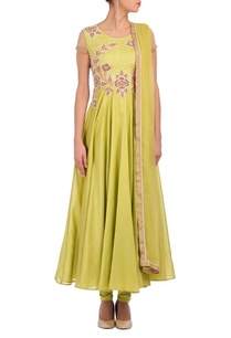 lime-green-floral-embroidered-anarkali-set