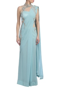 ice-blue-silver-embellished-sari-gown