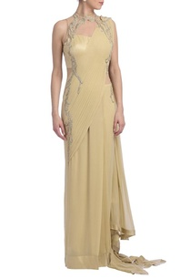 sand-silver-embellished-sari-gown