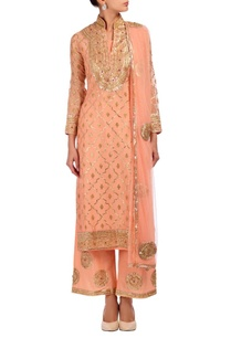 rose-pink-gold-silver-embroidered-kurta-set