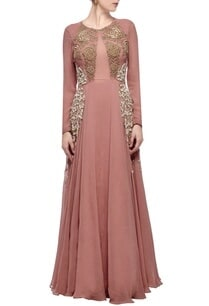 blush-pink-gold-rose-embroidered-gown