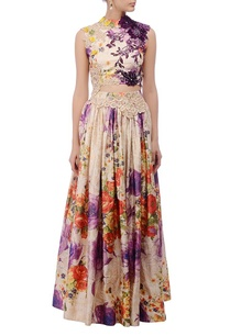 ivory-multicolor-printed-lehenga-set
