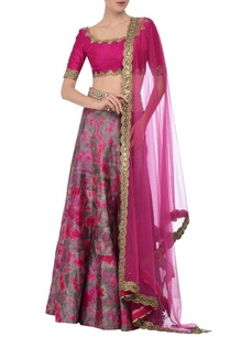fuschia-grey-tie-dye-mirror-embroidered-lehenga-set