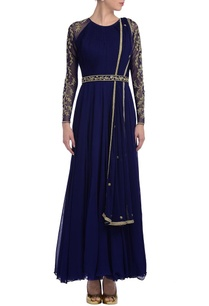 royal-blue-embroidered-anarkali-set-with-gold-embroidery