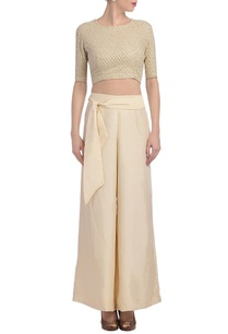 cream-embroidered-crop-top-with-matching-palazzos