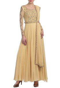 pale-yellow-embroidered-anarkali-set