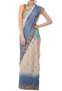 pale-blue-ivory-printed-tussar-silk-sari