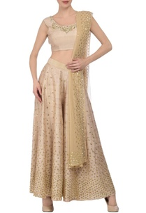 soft-beige-gold-sequin-embellished-palazzo-set