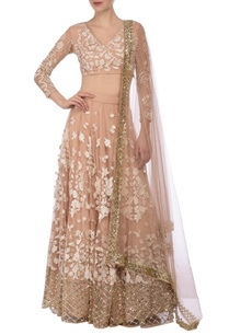 nude-ivory-floral-embroidered-lehenga-set