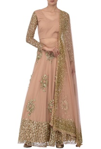 blush-pink-gold-sequin-floral-embellished-lehenga-set