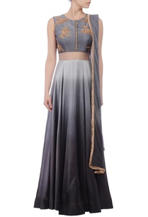 grey-shaded-gold-embroidered-anarkali-set