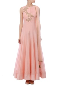 baby-pink-motif-embroidered-anarkali-set
