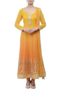 orange-yellow-embroidered-anarkali