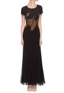 black-embroidered-gown-with-beadwork
