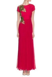 hot-pink-threadwork-embroidered-gown