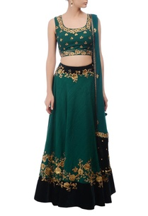 emerald-gold-floral-embroidered-lehenga-set