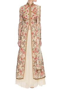 ivory-embroidered-embellished-kurta-set