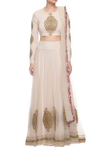 ivory-golden-motif-embroidered-lehenga-set