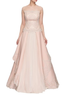 light-pink-embroidered-layered-gown