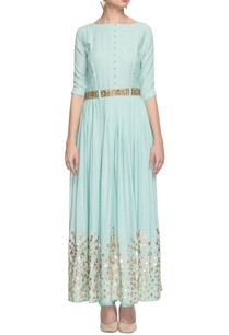 light-blue-gota-patti-anarkali-with-churidar