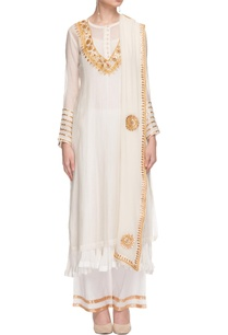 white-kurta-set-with-gota-patti-work