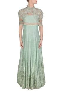 powder-blue-embroidered-anarkali-with-attached-cape