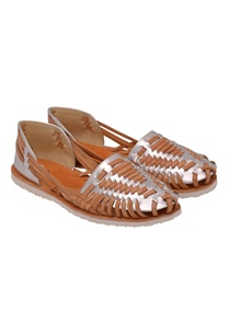 tan-silver-woven-style-slip-on-sandals