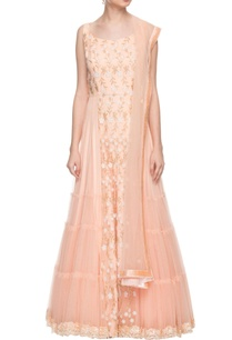 soft-peach-embroidered-anarkali-with-dupatta