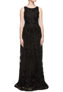 black-sequin-enhanced-gown