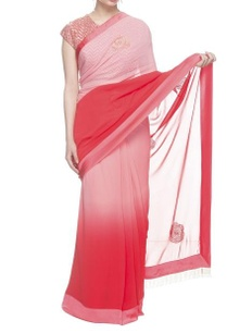 watermelon-red-and-pink-sari-with-embroidered-blouse