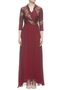 maroon-tulip-gold-embroidered-gown