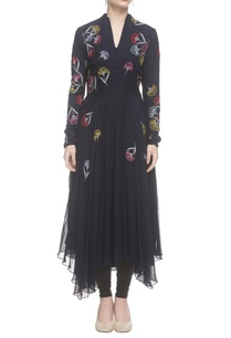 navy-blue-asymmetric-embroidered-kurta