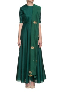 emerald-green-anarkali-with-embroidered-dupatta