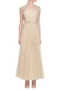 beige-floral-thread-bead-embroidered-dress